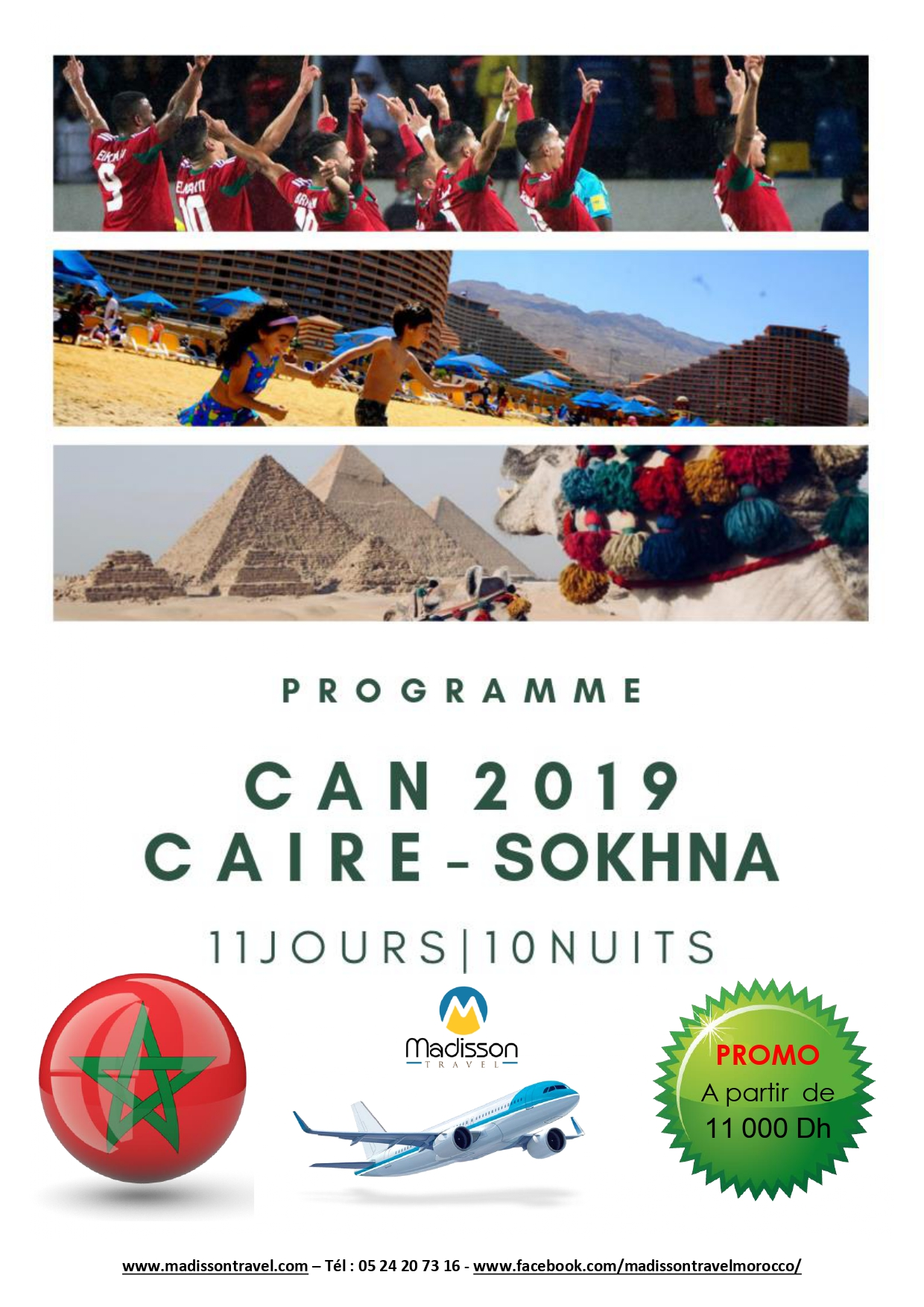 Programme CAN CAIRE - SOKHNA 2019