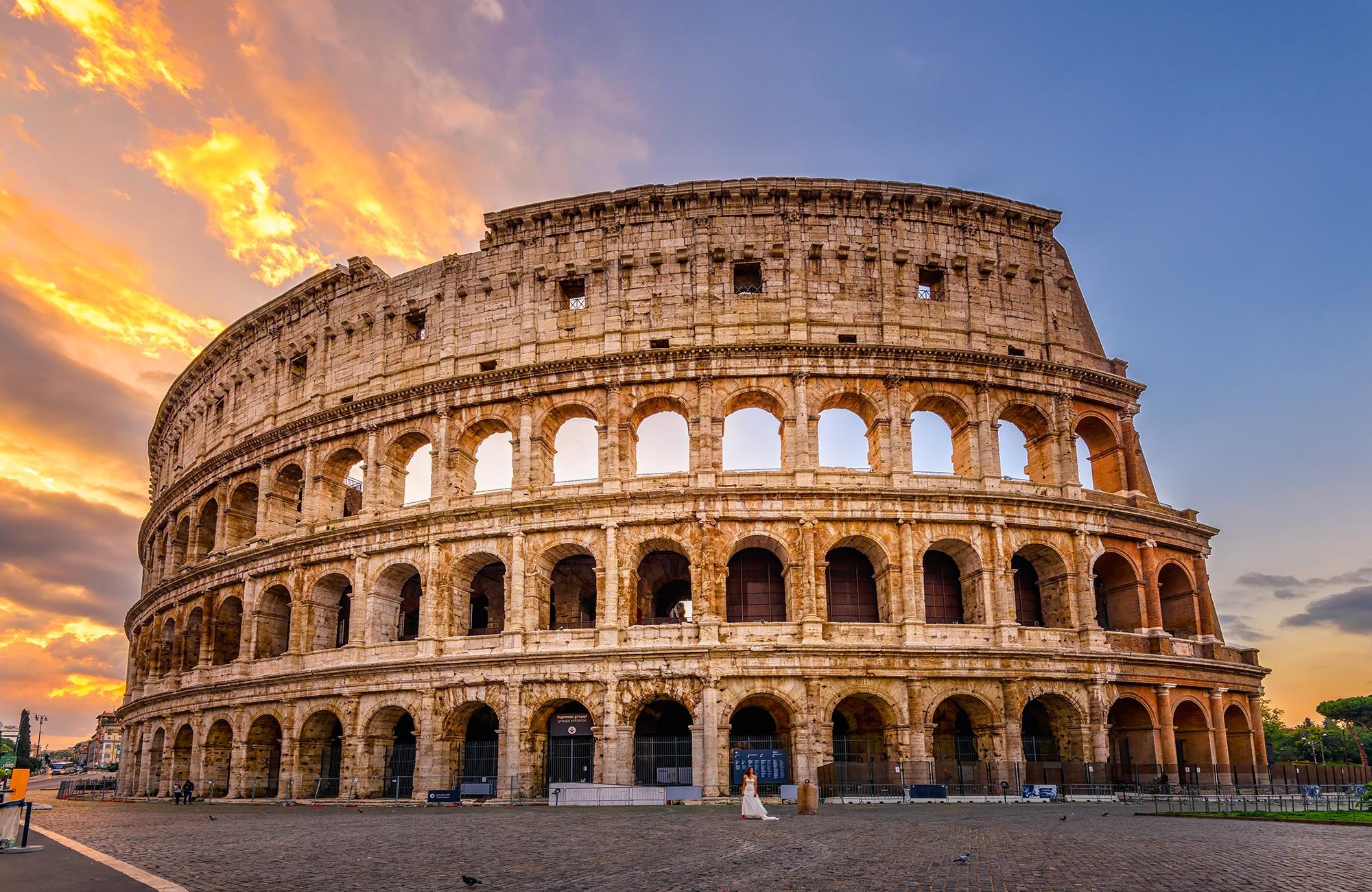 Programme de voyage vers l'Italie